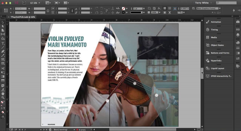 Learn Adobe-InDesign